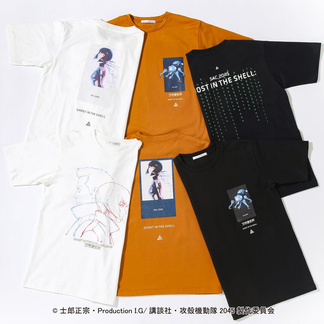 『攻殻機動隊 SAC_2045』 × 『メンズメルローズ』限定コラボTシャツ
