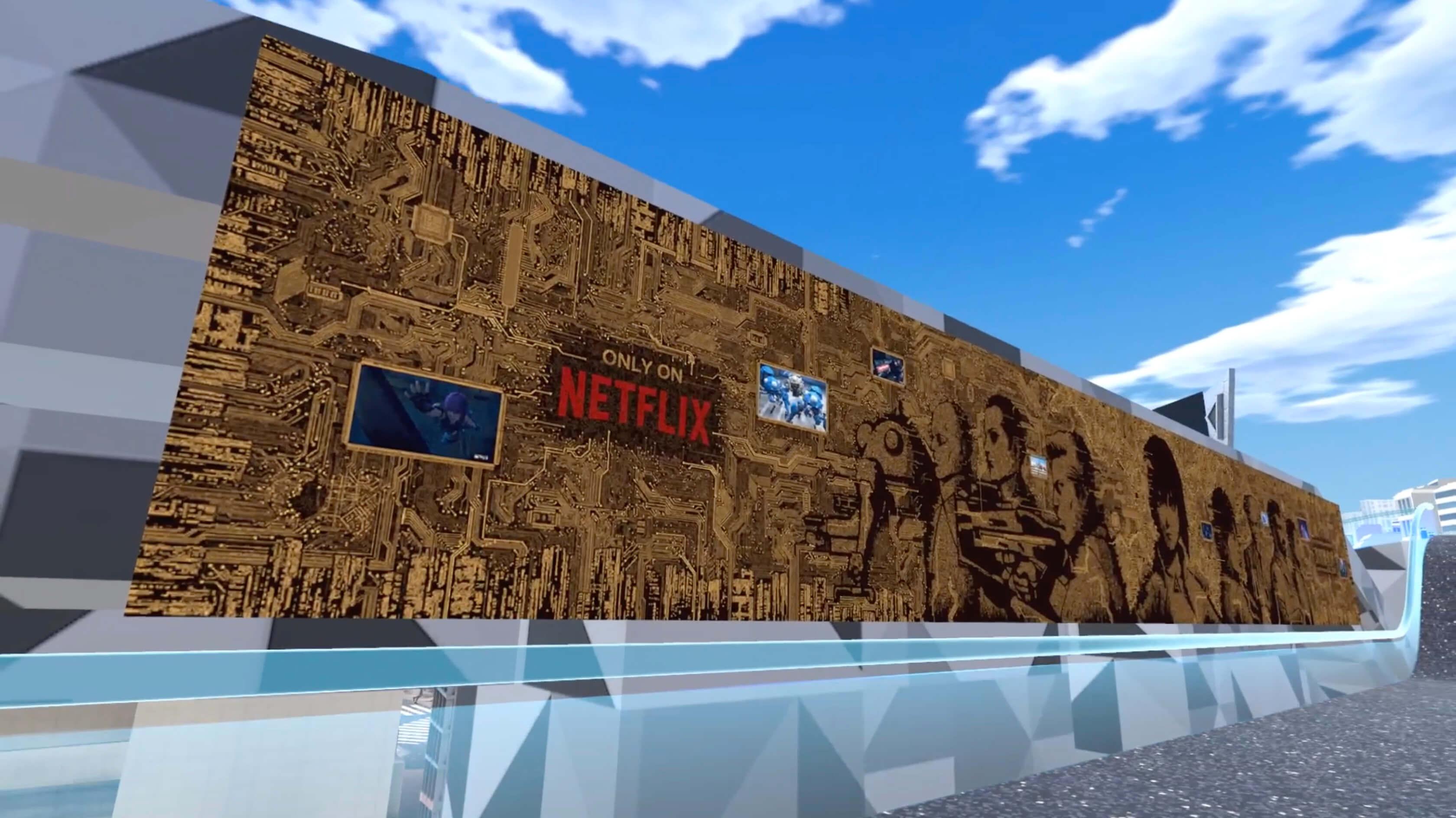 【Vケット4】Netflix特設ブースにてep01のVR上映を実施中(5/10まで)